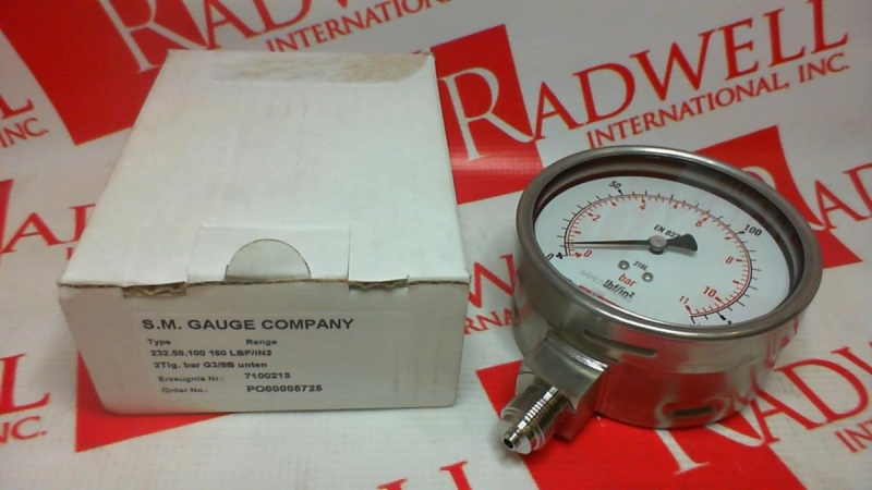 SM GAUGE COMPANY 7100213