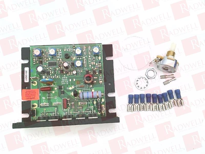 KB ELECTRONICS KBIC-125 SOLID STATE SCR DC MOTOR SPEED CONTROL