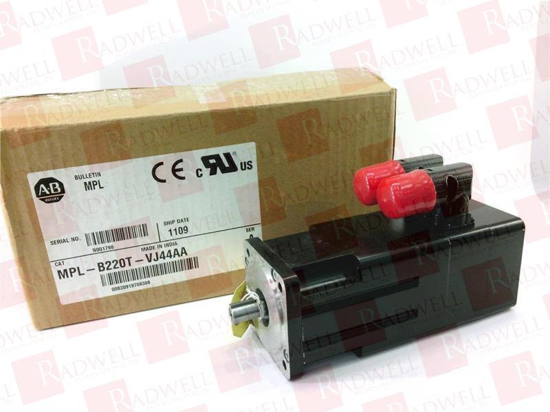 MPL-B220T-VJ44AA by ALLEN BRADLEY - Buy or Repair at Radwell