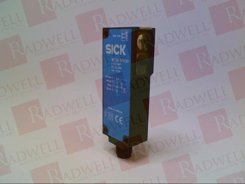 SICK OPTIC ELECTRONIC WT18-2P430