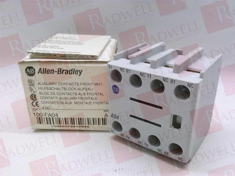 ALLEN BRADLEY 100-FA04