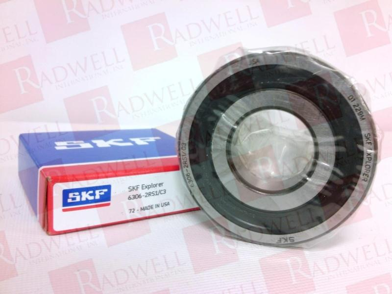 SKF 6306-2RS1/C3