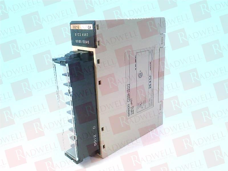 Omron CQM1-ID212 DC Input Unit ID 212 CQM1-1D212