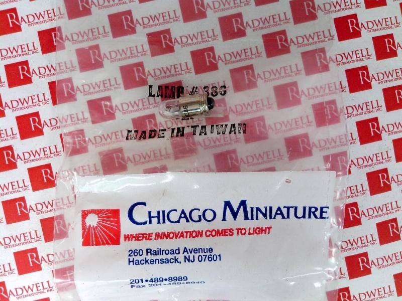 CHICAGO MINIATURE 386