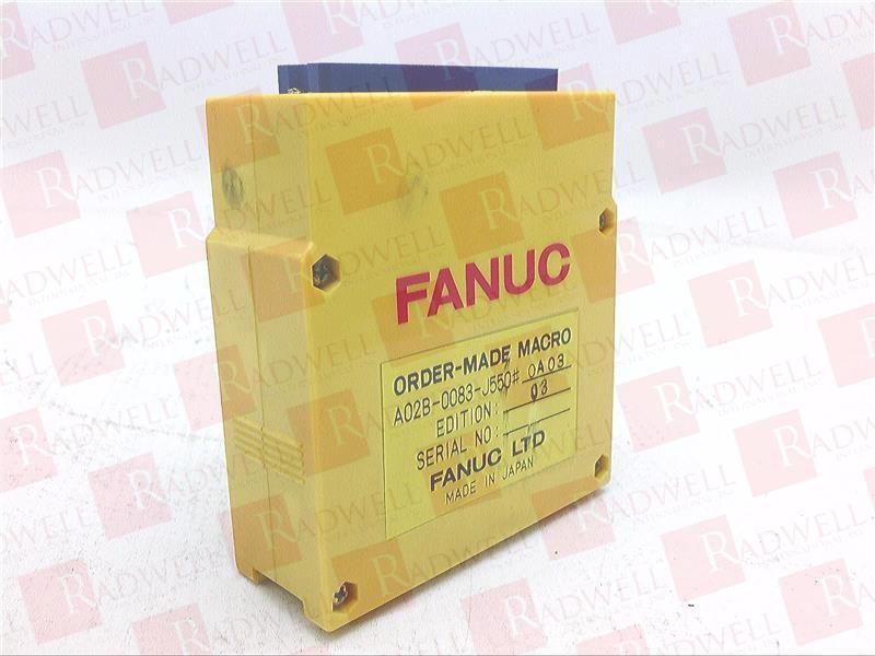 FANUC A02B-0083-J550 0