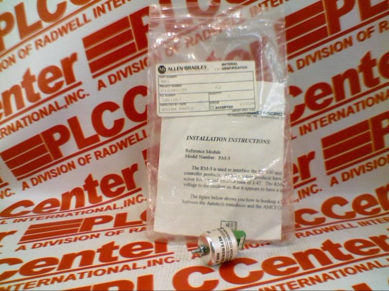 ADVANCED MICRO CONTROLS RM-3