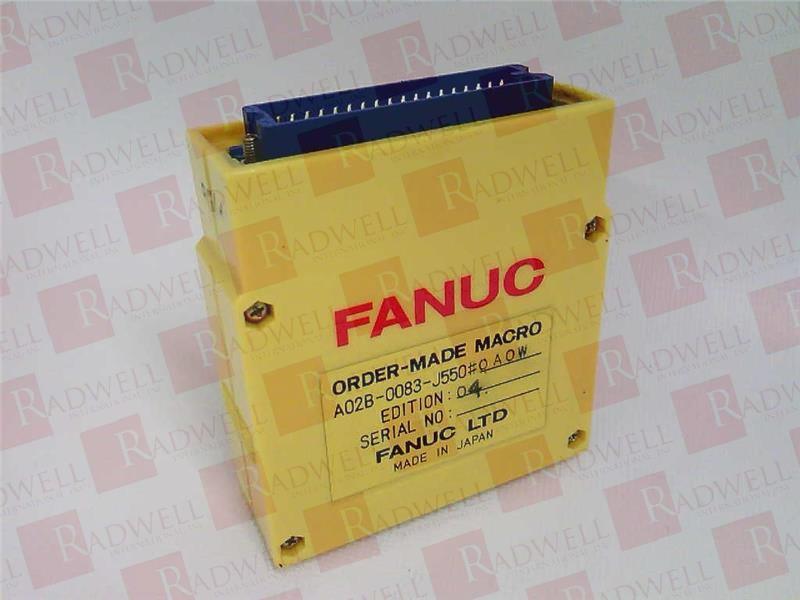 FANUC A02B-0083-J550 2