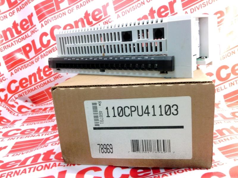 SCHNEIDER ELECTRIC 110-CPU-411-03