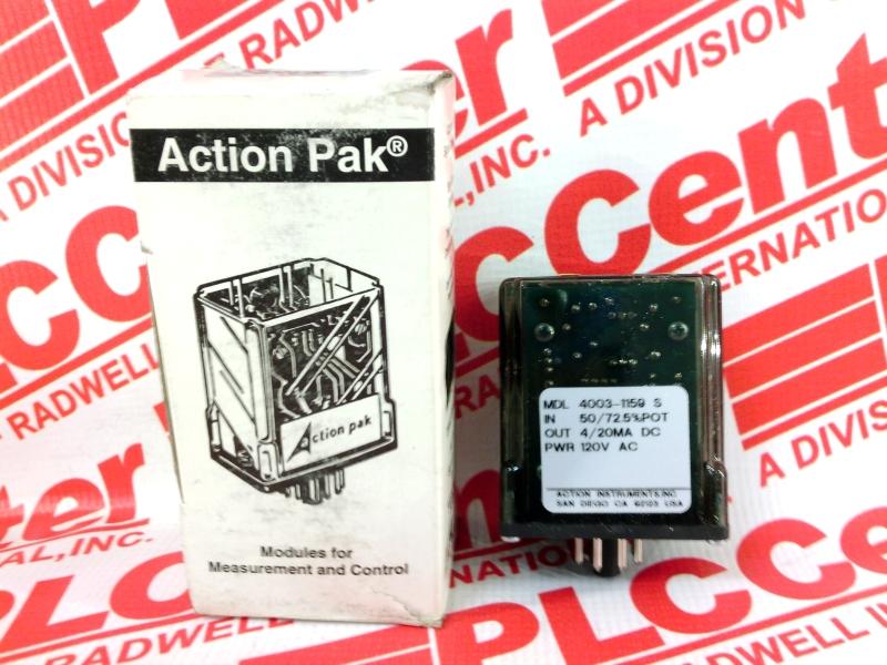 INVENSYS AP4003-1159S-120V