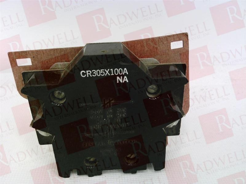 GENERAL ELECTRIC CR305X100A 1