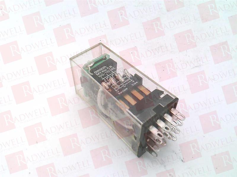 OMRON MY4N-CR-AC100/110 2