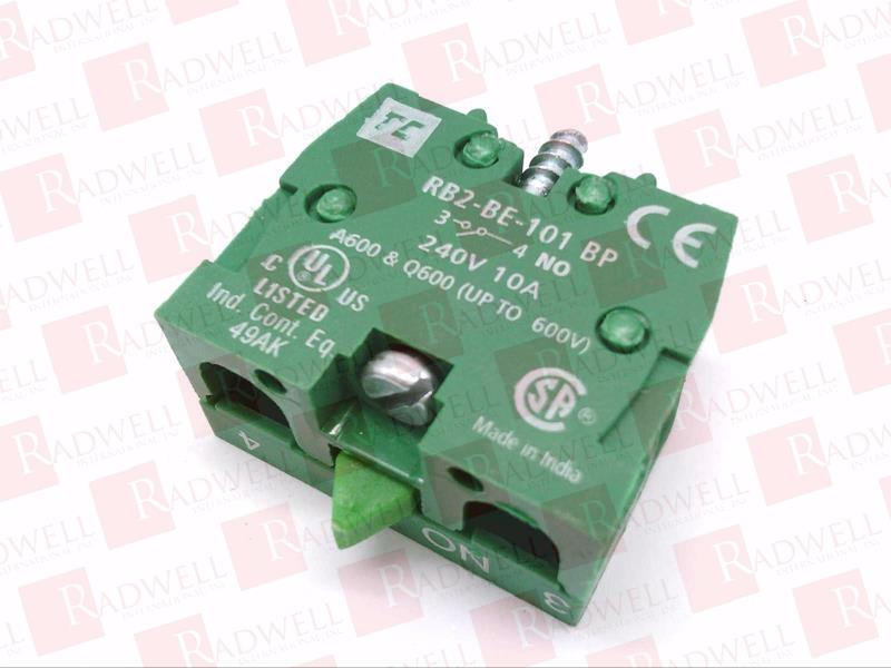 RB2-BE101-BP MULTICOMP 22MM SWITCHES N//O BLOCK