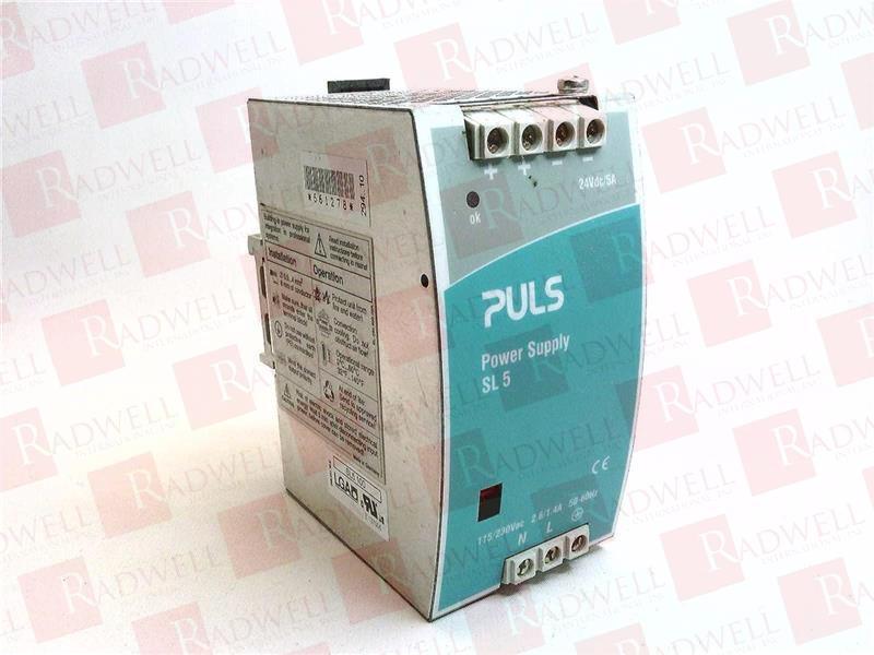 PULS type SL5.100 Power Supply