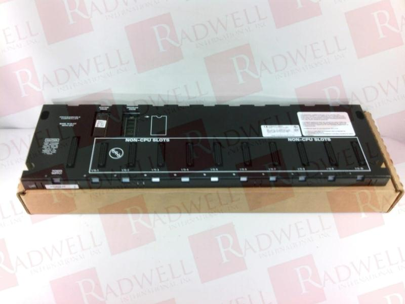 USED GE Fanuc IC693CPU323J Base 10 Slot Rack with CPU