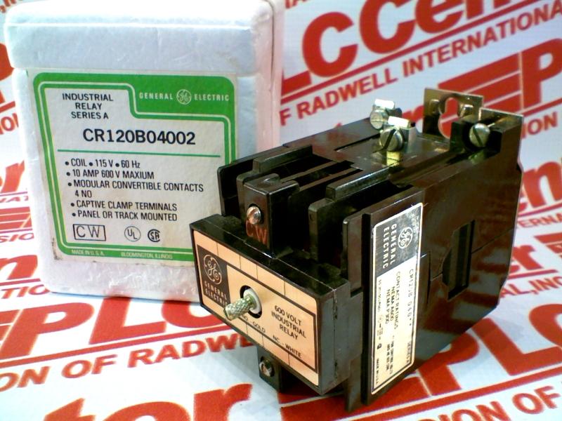 GENERAL ELECTRIC CR120B04002