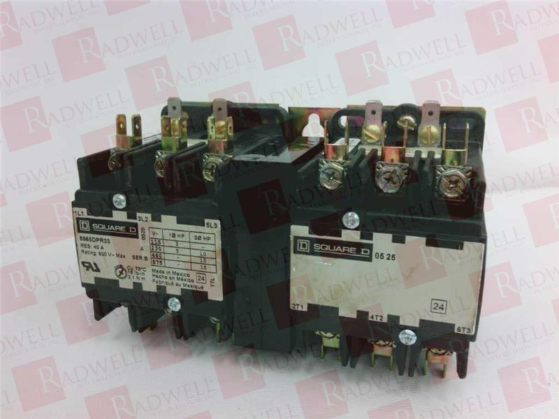 SCHNEIDER ELECTRIC 8965DPR33V02 0
