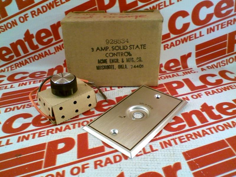 ACME ENGINEERING MFG 928534