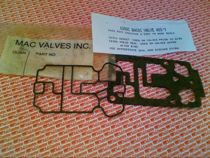 MAC VALVES INC 6200C 1