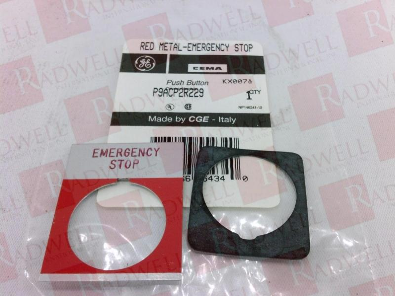GENERAL ELECTRIC P9ACP2R229