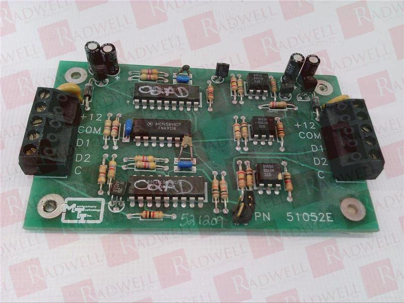 MONTGOMERY TECHNOLOGY INC 51052E