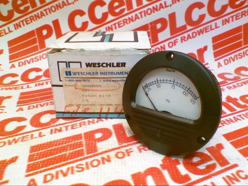 WESCHLER 186A440A09