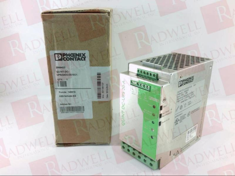 QUINT-DC-UPS/24DC/20/SO1 by PHOENIX CONTACT - Buy or Repair
