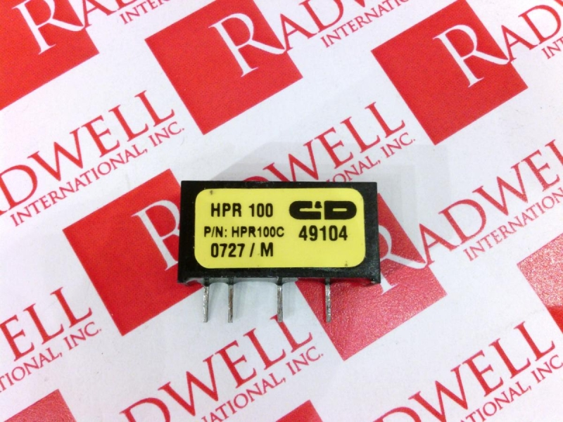 C&D TECHNOLOGIES HPR100C