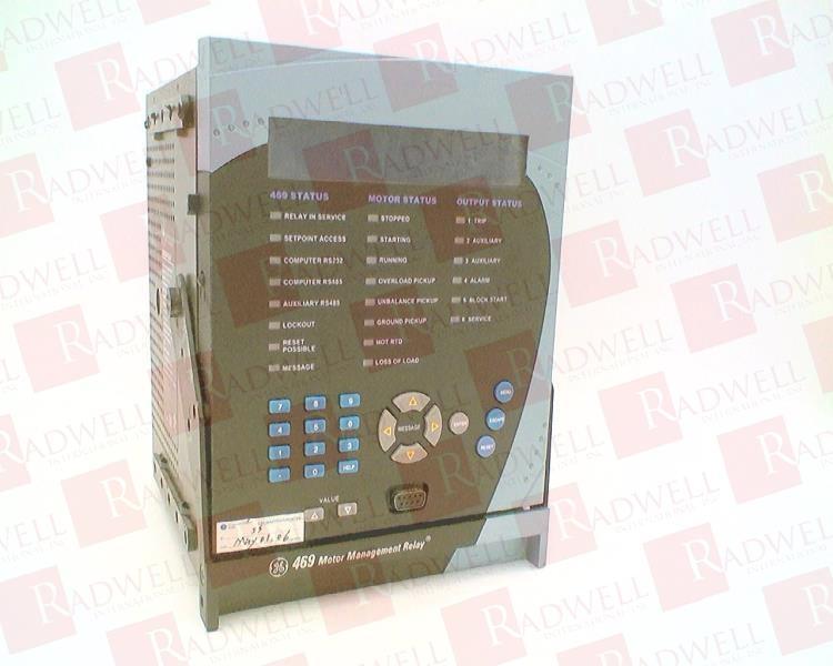 GENERAL ELECTRIC 469-P5-HI-A20 0