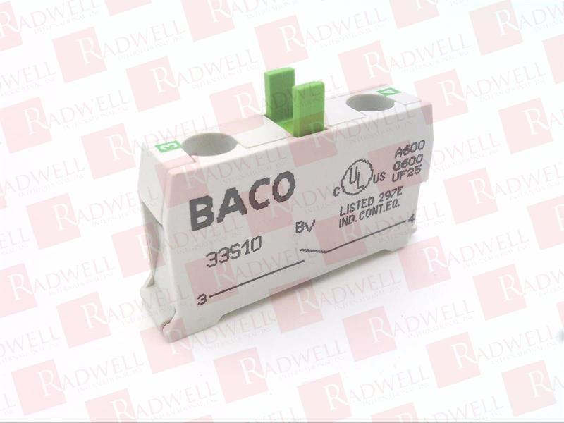 BACO CONTROLS 33S10
