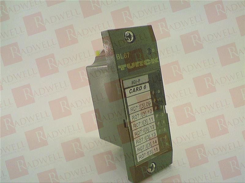 TURCK ELEKTRONIK BL67-8DI-P 1