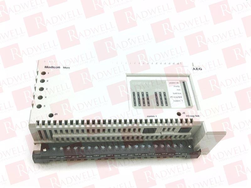 SCHNEIDER ELECTRIC 110-CPU-411-00