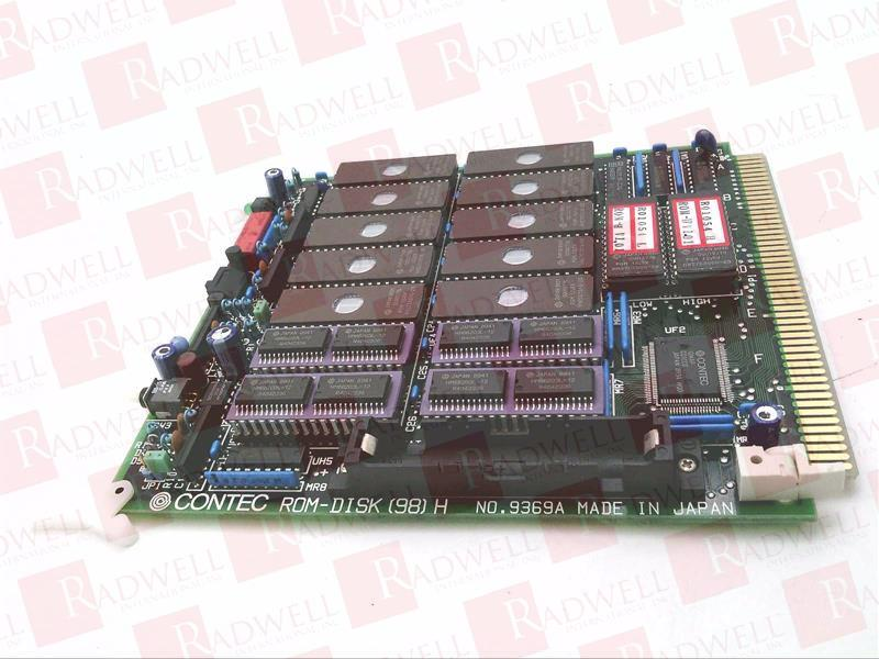 CONTEC ROM-DISK (98) H-02
