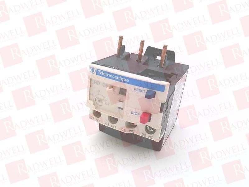 SCHNEIDER ELECTRIC LRD08 1