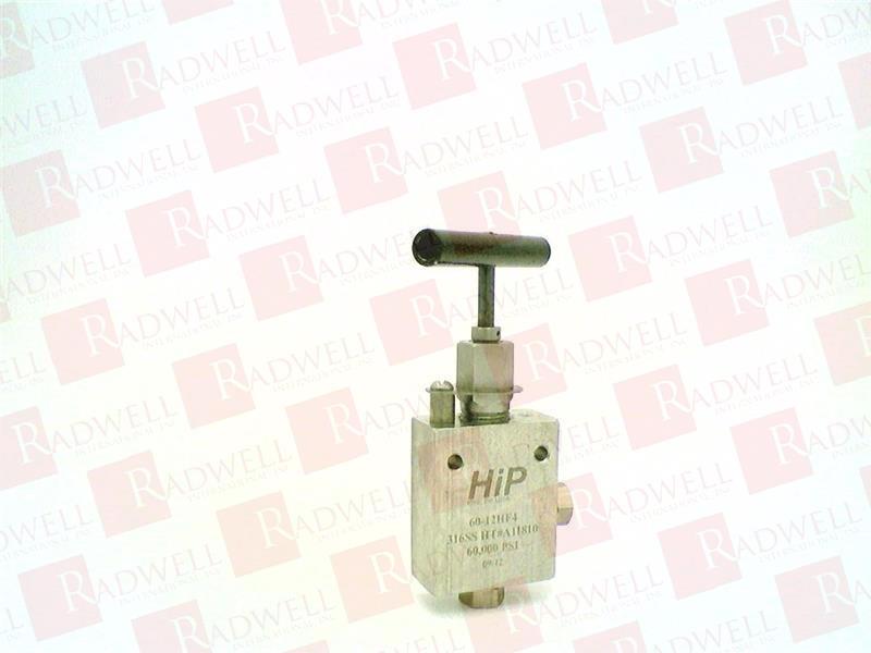 HIGH PRESSURE EQUIPMENT CO 60-12HF4