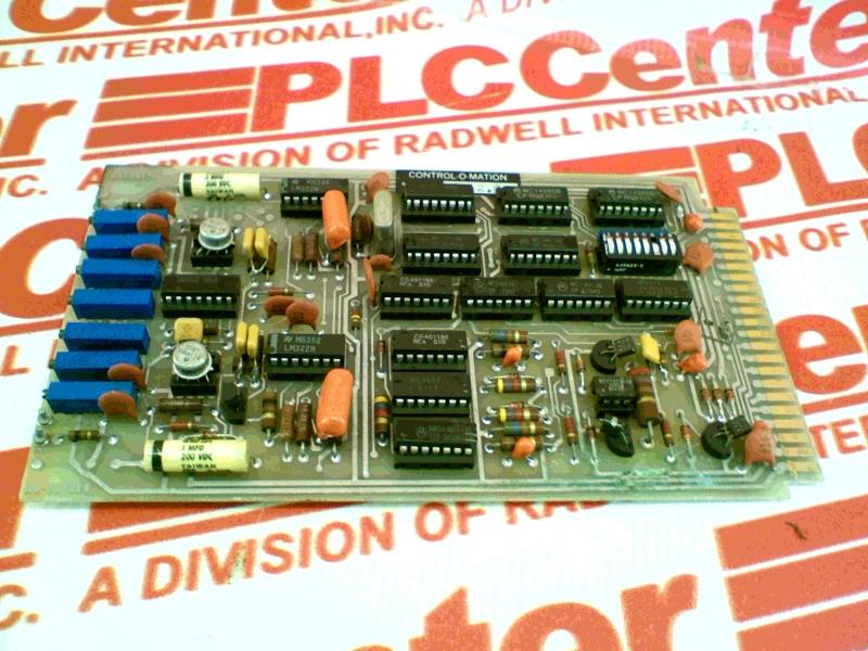 CONTROL O MATION D6012.G-3
