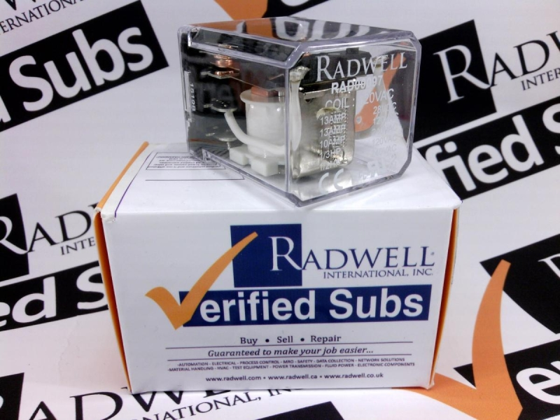 RADWELL VERIFIED SUBSTITUTE RR2BA-USAC120V-SUB