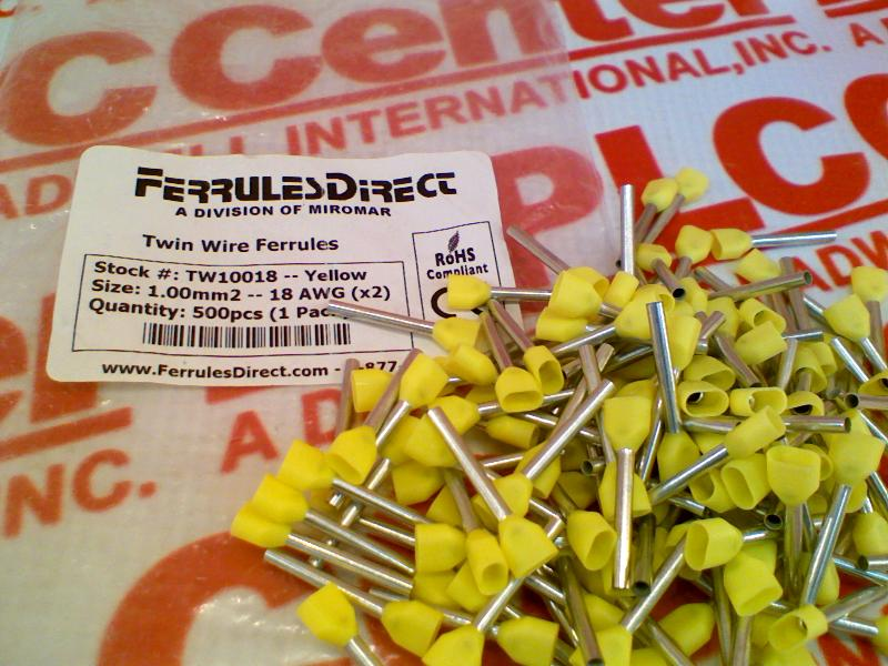 FERRULES DIRECT TW10018