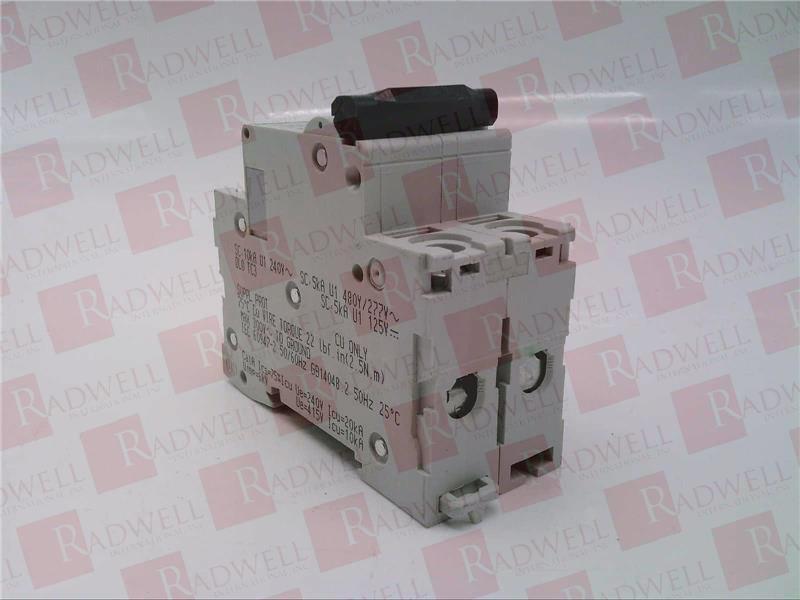 SCHNEIDER ELECTRIC C 2A 1