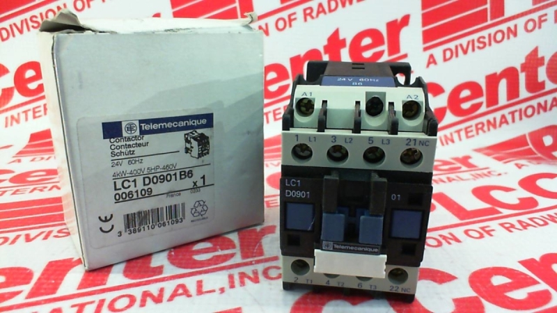 GUARANTEED GOOD USED SCHNEIDER CONTACTOR LC1-D09 LC1D09