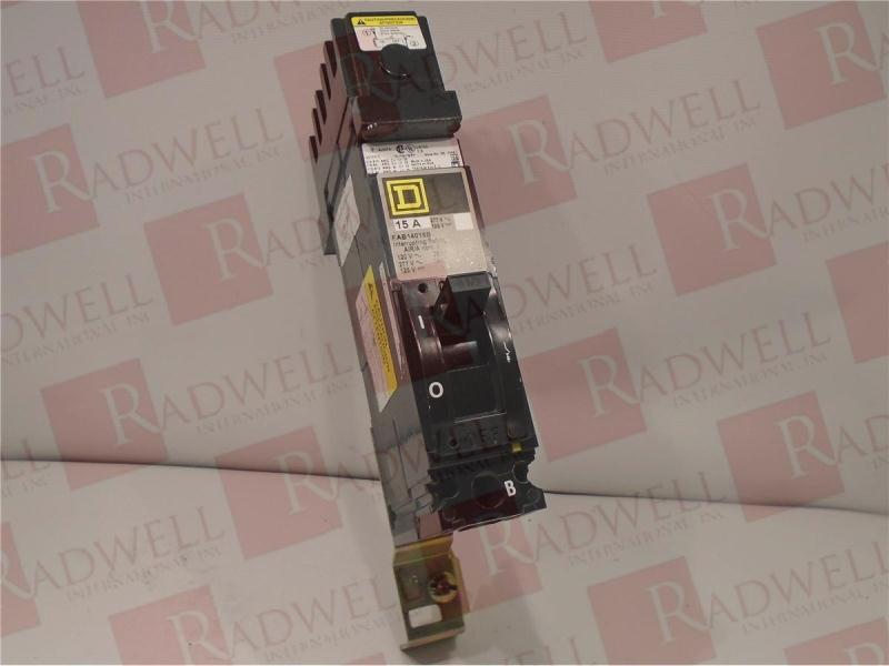 SCHNEIDER ELECTRIC FAB-14015A