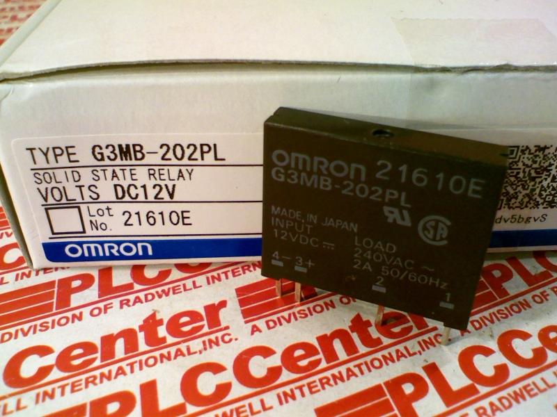 OMRON G3M-B202PL-DC12