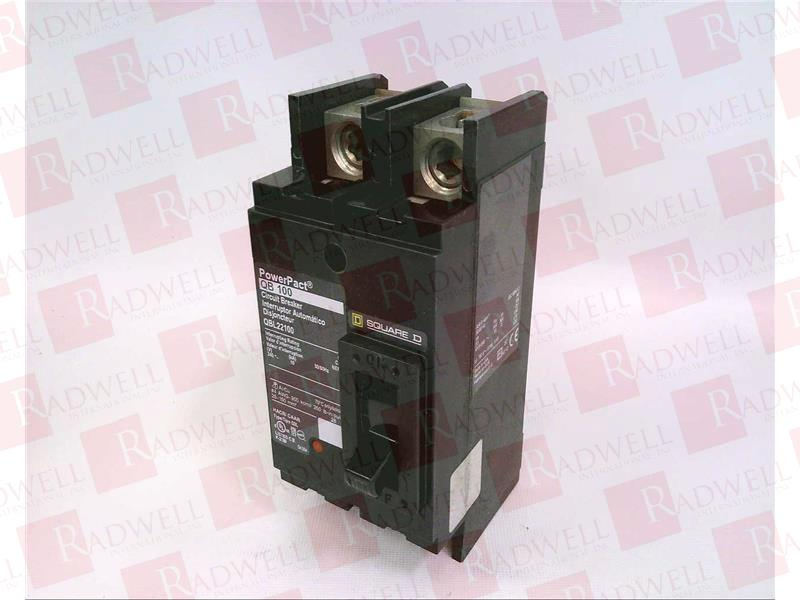 Breaker Square D QBL22100  100A 240V 2P