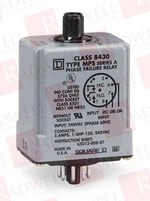 SCHNEIDER ELECTRIC 8430-MPS