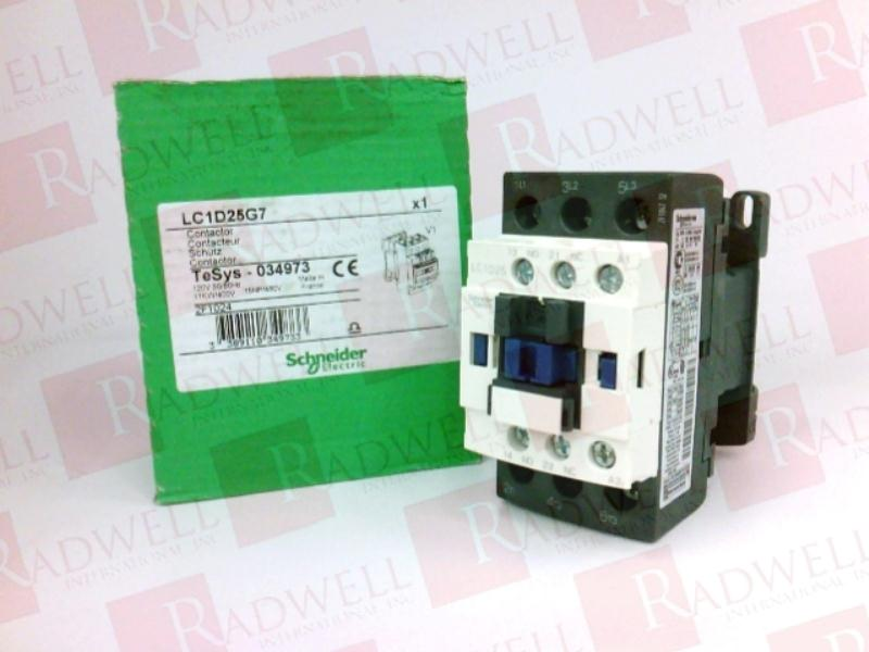 SCHNEIDER ELECTRIC LC1-D25-G7