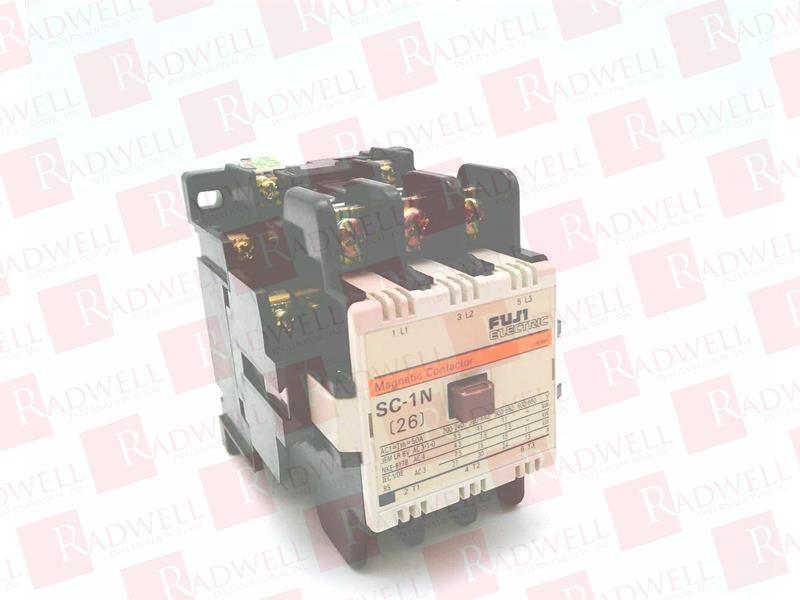 Fuji Electric magnetic contactor # SC1N  220V coil