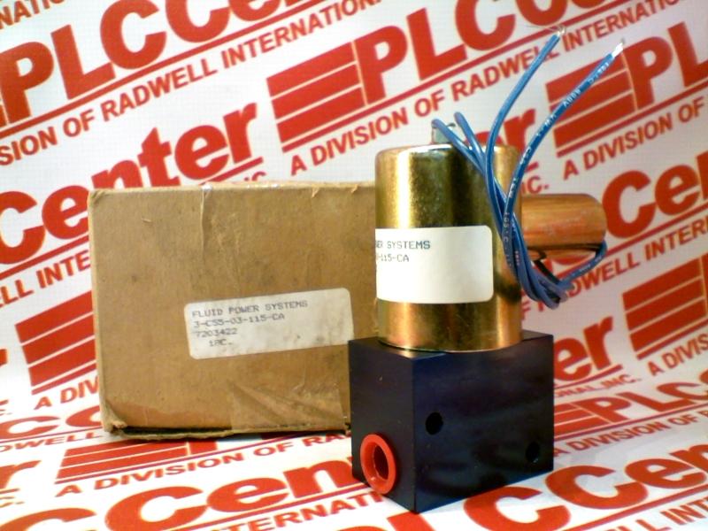 FLUID POWER SYSTEMS 3-C55-03-115-CA