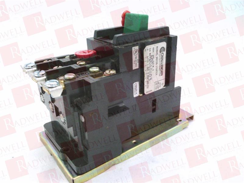 CHALLENGER ELECTRICAL EQUIPMENT 4004DU003