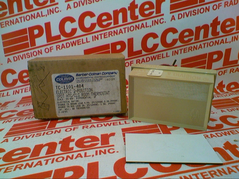 Barber Colman TC-1101 TWO POSITION SPDT ELECTRIC ROOM THERMOSTAT 55-85F