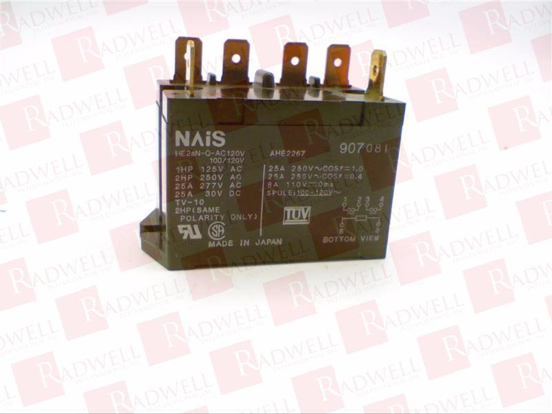 NEW NO BOX HE2ANQAC120V MATSUSHITA ELECTRIC HE2AN-Q-AC120V