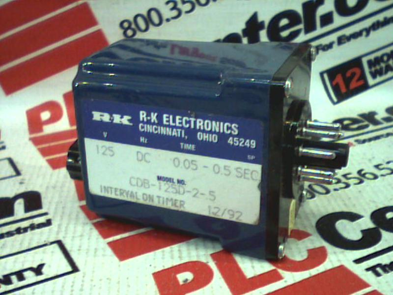 RK ELECTRONICS CDB-125D-2-.5S 0